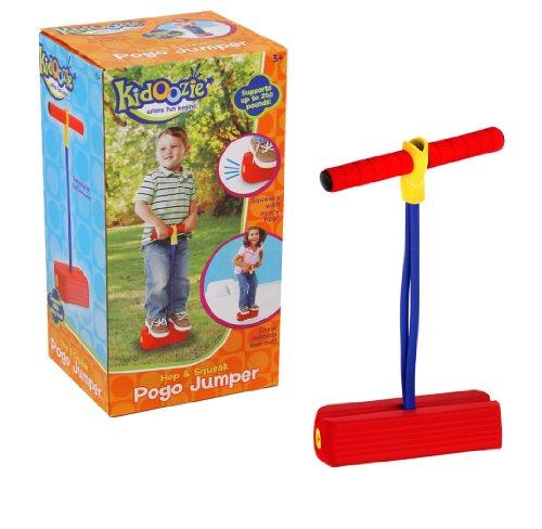 Pogo Jumper-Sicher Spielen und Spaß-fördert einen aktiven Lebensstil-Macht Glitschige Sounds-Für alle Größen, 250Pfund Kapazität ()