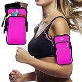 Armband Armtasche, Rennen Outdoor Armband Handytasche Multifunktionale Doppel Armtasche Armbinde für Handy Bis zu 7,0