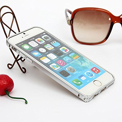 Ultra Thin Aluminum Bumper Case couvercle en mŽtal Frame pour iPhone 6 rose