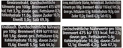 Ostmann Chrom-Gewürzregal gefüllt mit 21 Gewürzdosen, 1er Pack von Ostmann - Gewürze Shop