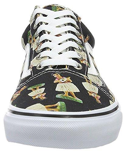 Vans Skool, Sneakers Basses Homme Schwarz/Mehrfarbig