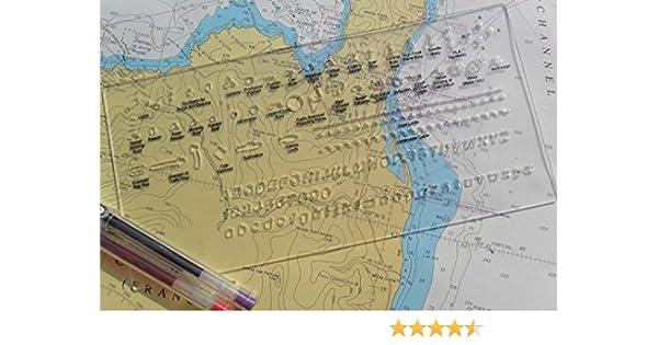 Master Mariner Chart Correction Kit Template Amazon Sports