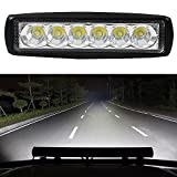 niceEshop(TM) 18W LED Off Road Light Bar Waterproof Backup Work Spot Light for Trailer Boat SUV ATV Pickup Motorcycle Jeep - niceEshop - amazon.co.uk