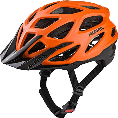 Alpina Mythos 3.0 L.E. Fahrradhelm - orange-Black, Kopfumfang:57-62 cm