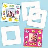 Cornici in Cartone per Bambini da Dipingere, Decorare ed Esporre (Confezione da 10)