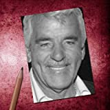 Seasons Dennis Farina - ACEO Sketch Card (Signed by The Artist) #js004