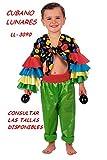 Disfraz de Cubano de Colores 7 a 9 Años