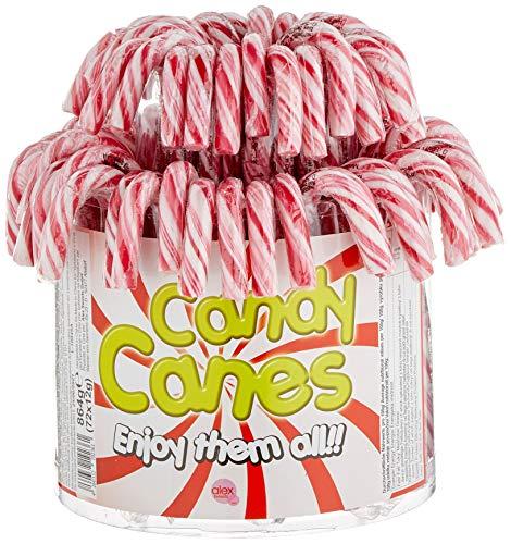 Candy Canes - Zuckerstangen rot-weiß - 72St/1kg