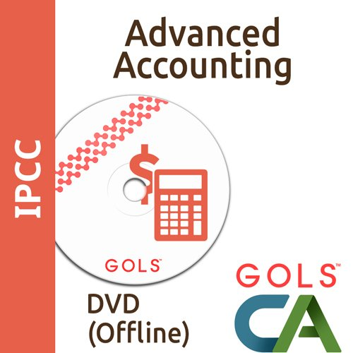 GolsCACoaching IPCC Coaching Paper 5 Advanced Accounting (DVDs)