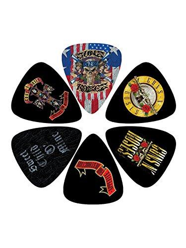 Perri's Leather LP-GR2 Picks/Gitarrenplektren Guns N Roses (6 Stück) (Pick Guns)