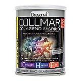 COLLMAR Colágeno Marino Hidrolizado con Magnesio, Ácido Hialurónico y Vitamina C 300 g Sabor Limón Polvo