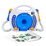X4-TECH Bobby Joey MP3 Kinder CD-Player Blau