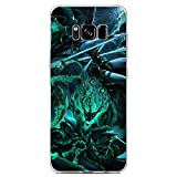 BEMAGIC Galaxy S8 Case,Flexible Slim Silicone TPU Protector Cover Soft Thin Gel Skin for Samsung Galaxy S8-Thresh and Kalista