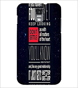 PrintDhaba Quote D-4442 Back Case Cover for SAMSUNG GALAXY S5 (Multi-Coloured)