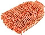 infactory Autowaschhandschuh: Mikrofaser-Wasch-Handschuh mit Scheuer- und Mikrofaser-Gewebe (Mikrofaser Waschhandschuh)