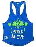 Best boxe Workouts - Musclealive Hommes La musculation Débardeur Raidisseur Gilet Coton Review