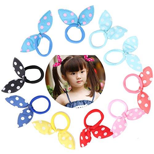 Jiamins - 10 piezas gomas elásticas pelo diseño