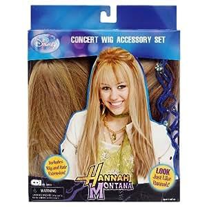 Hannah Montana Concert Wig Accessory Set Amazon Co Uk