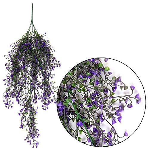 Hängende Blume, Girlande zum Aufhängen, für Hochzeit, Zuhause, Garten, Balkon, Blumen-Dekoration, 1
