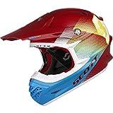 Scott 350 Pro Dirt MX Enduro Motorrad / Bike Helm rot/blau 2015: Größe: XXL (63-64cm)