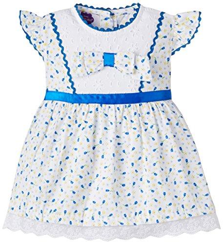 Cupcake Baby Girls' Dress (M9-9-2498_Blue_6 months)