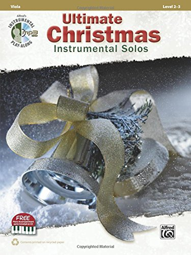 Ultimate Christmas Instrumental Solos for Strings: Viola, Book & CD (Ultimate Instrumental Solos)