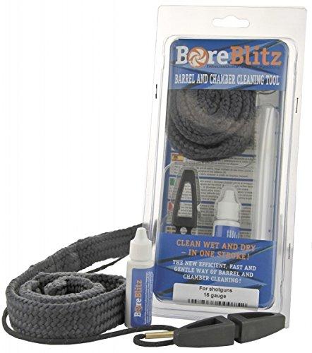 SUTTER® BoreBlitz - Lauf-Reinigunsschnur für Pistolen, Revolver und andere Kurzwaffen - Kaliber: 5,56mm/.22 - Ohne Reinigungsmittel (CLP)