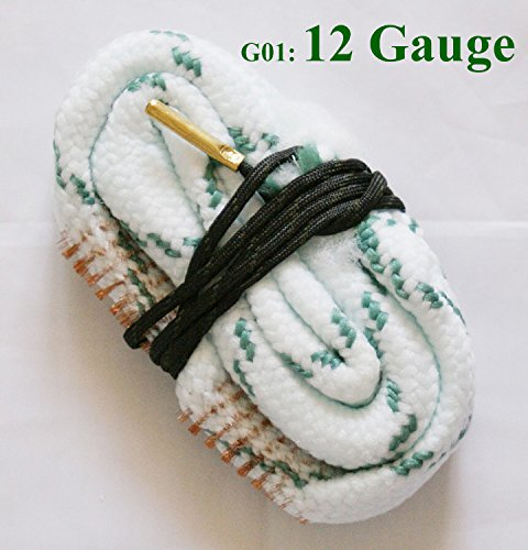 New Bore Snake Cleaner .17 .22 .40, .50, .308 .380 Cal 6, 7, 9mm Caliber 12 20 28 410 Gauge Rifle/Pistol/Shotgun Cleaning ...