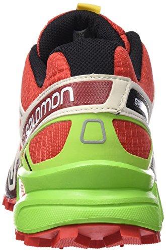 Salomon Speedcross 3, Scarpe da Trail Running Uomo Rosso (Rojo (Radiant Red / Light Grey - / Granny Gre))