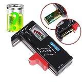 caxmtu comprobador de batería para 9V 1,5V celdas pilas AAA