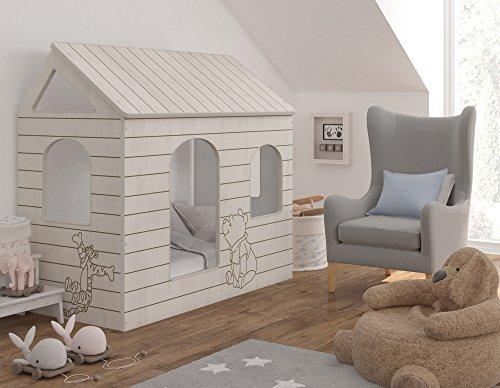 Kinderbett Haus - Winnie Puuh, Original Disney - BBD Primea