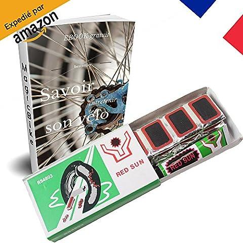 [MagicBike®] Rustine à Vélo Haute Qualité - Kit de 48