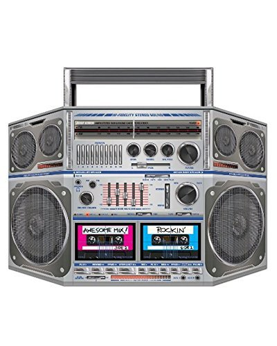 PMU Boom Box Stand-Up Party Accessory (1 count) (1/Pkg) Pkg/3