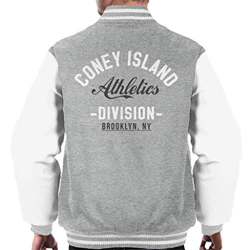 Herren Coney Island (Coney Island Athletics Division Men's Varsity Jacket)