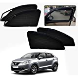 #9: Casotec Magnetic Foldable Window Sun Shades for Maruti Suzuki Baleno (Nexa) - Set of 4 - with Zipper
