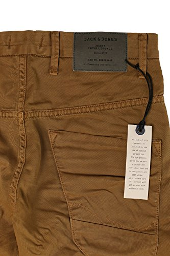 JACK & JONES Herren Jjiscott Long Shorts Camel