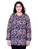 Oxolloxo Plus Size Printed Tunic