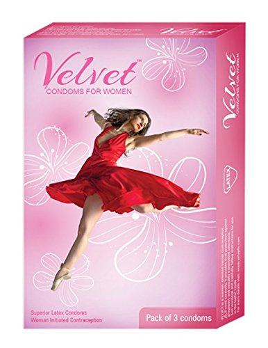 Velvet Female Condom - 3 Condoms