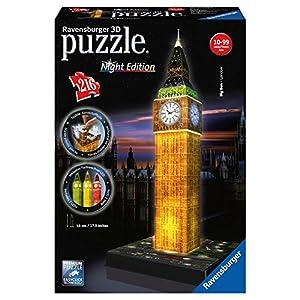 Ravensburger Big Ben 3D Puzzle Night Edition