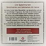 Rabenkarten: Das Rabenorakel - 49 Karten mit Anleitung - Gabi Bücker