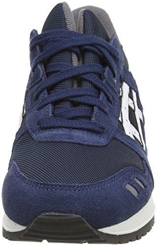 Asics Gel-lyte Iii, Sneakers Basses Mixte adulte Bleu (Navy/White 5001)