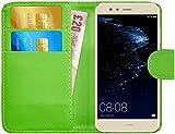 G-Shield Huawei P10 Lite Hülle mit Kartenfach Ledertasche
