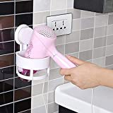 ROMINO Medium Size ABS Plastic Salon Hair Holder Rack with Vacuum Suction Cup