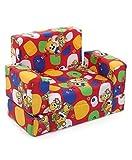 BabyGo Kids Sofa Cum Bed 2-in-1 Flip Ope...