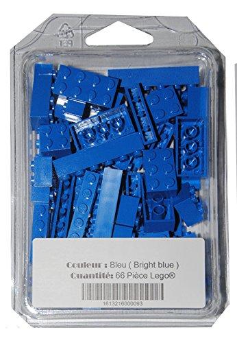 brique-lego-66-pices-couleur-bleu