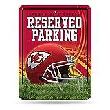 Unbekannt NFL Abonnements Metall Parken Schild, Kansas City Chiefs, Einheitsgröße
