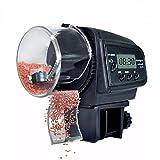 Homehod Digital Automatischer LCD Timer Fischfutterautomat Fisch für Aquarium,Aquatic Pet Goldfisch Fütterung Dispenser Batteriebetriebene Einstellbare Auto Feeder Maschine