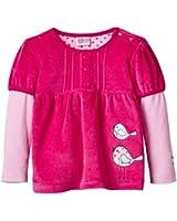 Eltern by Salt & Pepper Baby - Mädchen Sweatshirt NB Birdi Nicki 2in1, Einfarbig