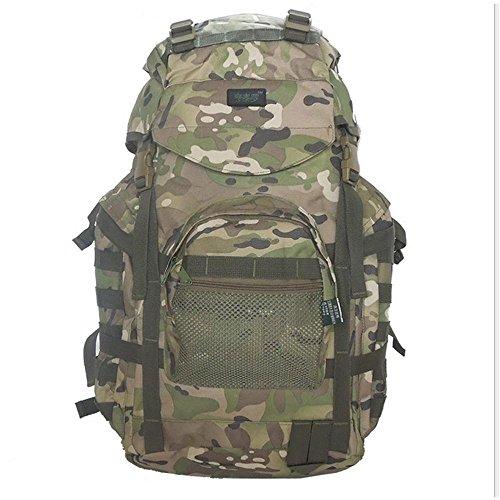 Camouflage Rucksack / Outdoor Bergsteigen Tasche / Taktisches Paket / Multifunktions Camping Camp Paket Green