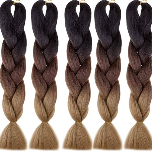 Hair Extensions & Wigs Jumbo Braids Xtrend Hair Kanekalon Jumbo Braid Hair 42inch 165g Crotchet Braids Twist Synthetic Braiding Hair Black Blond Pink Purple Gray Be Friendly In Use